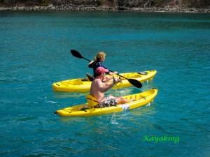 Cool change kayaking