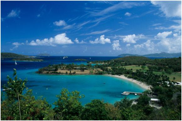 British virgin islands vacation island