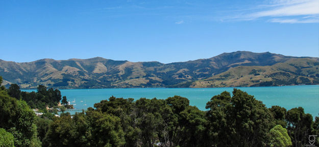 Akaroa, South Island, New Zealand
