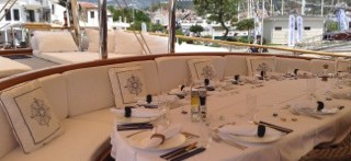 Charter a spacious Turkish Gulet