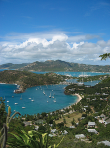 beatiful landscape of antigua and barbuda