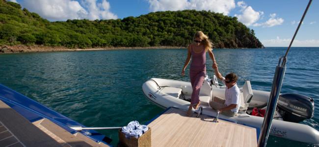 onboard Sailing Yacht Ptarmigan