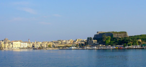 Corfu from a distance