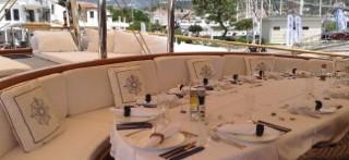 Charter a spacious Turkish Gulet