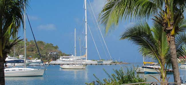 St Georges Harbour Luxury Yacht Charter Grenadines