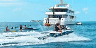 There is no need for any boating experience when chartering a luxury motor yacht. Our experienced, professional, and friendly crew will take care of everything for you. With their local knowledge, you can make the most of activities and shore excursions aboard Virgin Island charters.