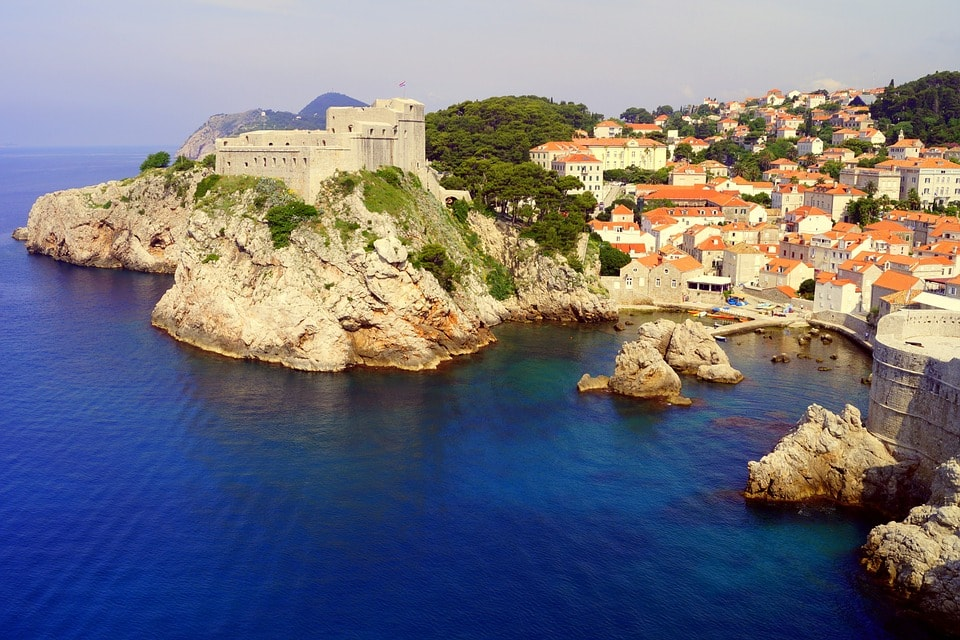 the coasts of dubrovnik