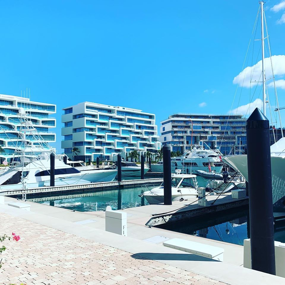 Sunny docks