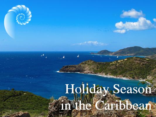 Holiday season in the Caribbean