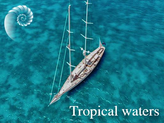 tropical waters